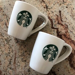 Starbucks mugs (2)